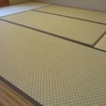 畳はこだわりの市松模様。素敵です!