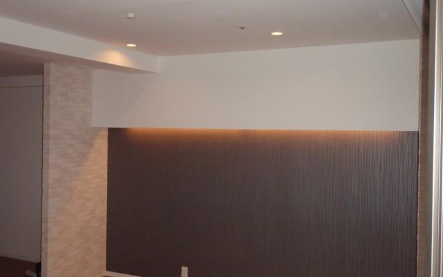 理想の床材とエコカラットで素敵なリビングに仕上がりました。
