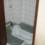 リフォーム前のトイレは和式でした。