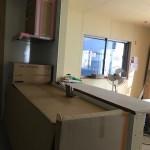 キッチンカウンター キッチンからの視界良好。キッチンに立っていても孤立しません。